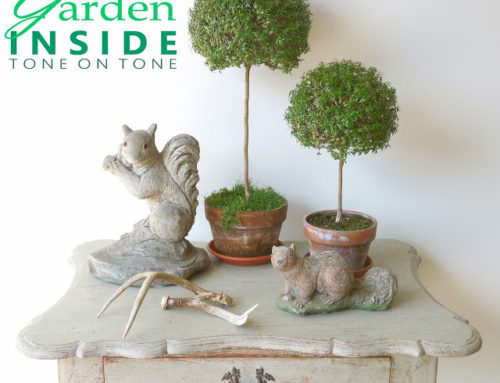 Bringing the Garden Inside at Tone on Tone